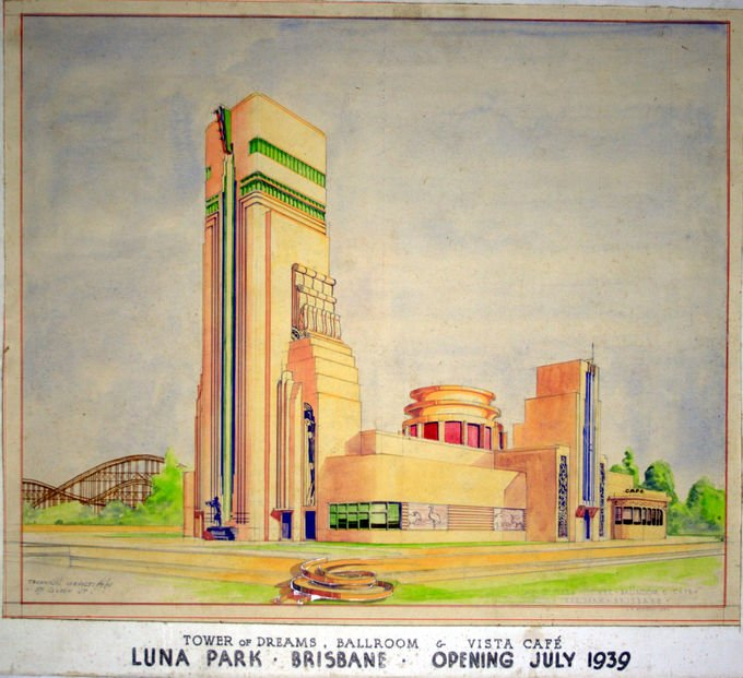 Poster of Brisbane's Luna Park