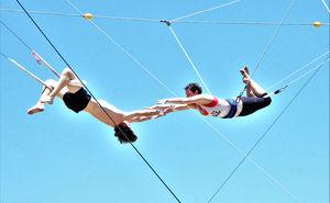 Circus Arts Australia's Flying Trapeze Classes Brisbane